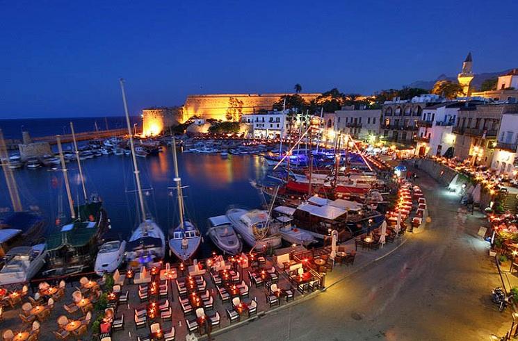 Kıbrıs Gezilecek Yerler Part2 Girne Yat Limanı
